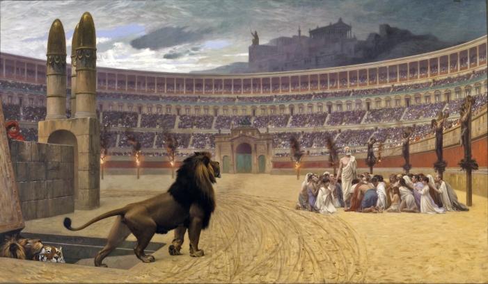 Romans Persecuting