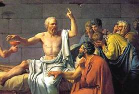 Jacques-Louis David, The Death of Socrates