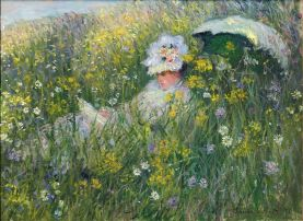 Claude Monet, In the Meadow