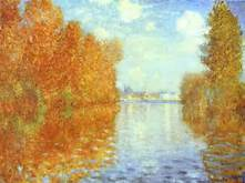 Claude Monet, Autumn at Argenteuil